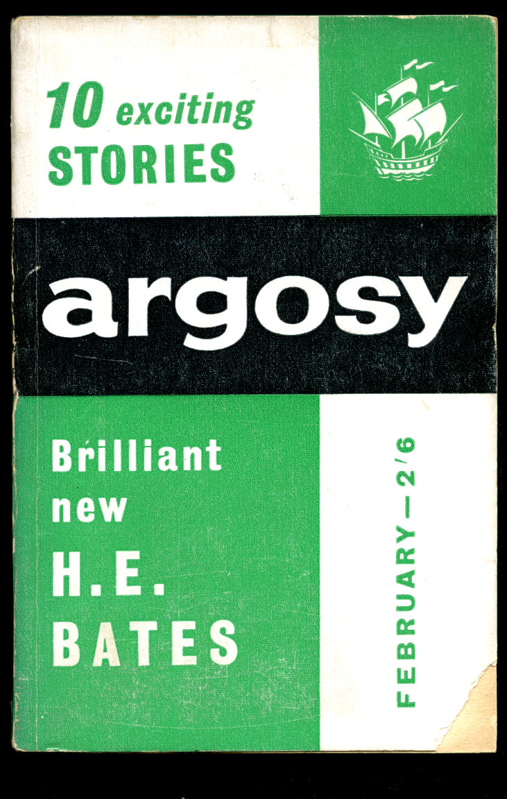 INCLUDES SHORT STORIES AND ARTICLES BY: IAN FLEMING; H. E. BATES; GEORGES SIMENON - Argosy   The Short Story Magazine of Complete Stories   Volume XXIII Number 2   February, 1962   Ian Fleming 'A Game of Bridge at Blades'; H. E. Bates 'The Quiet Girl'; Georges Simenon 'Rue Pigalle'.