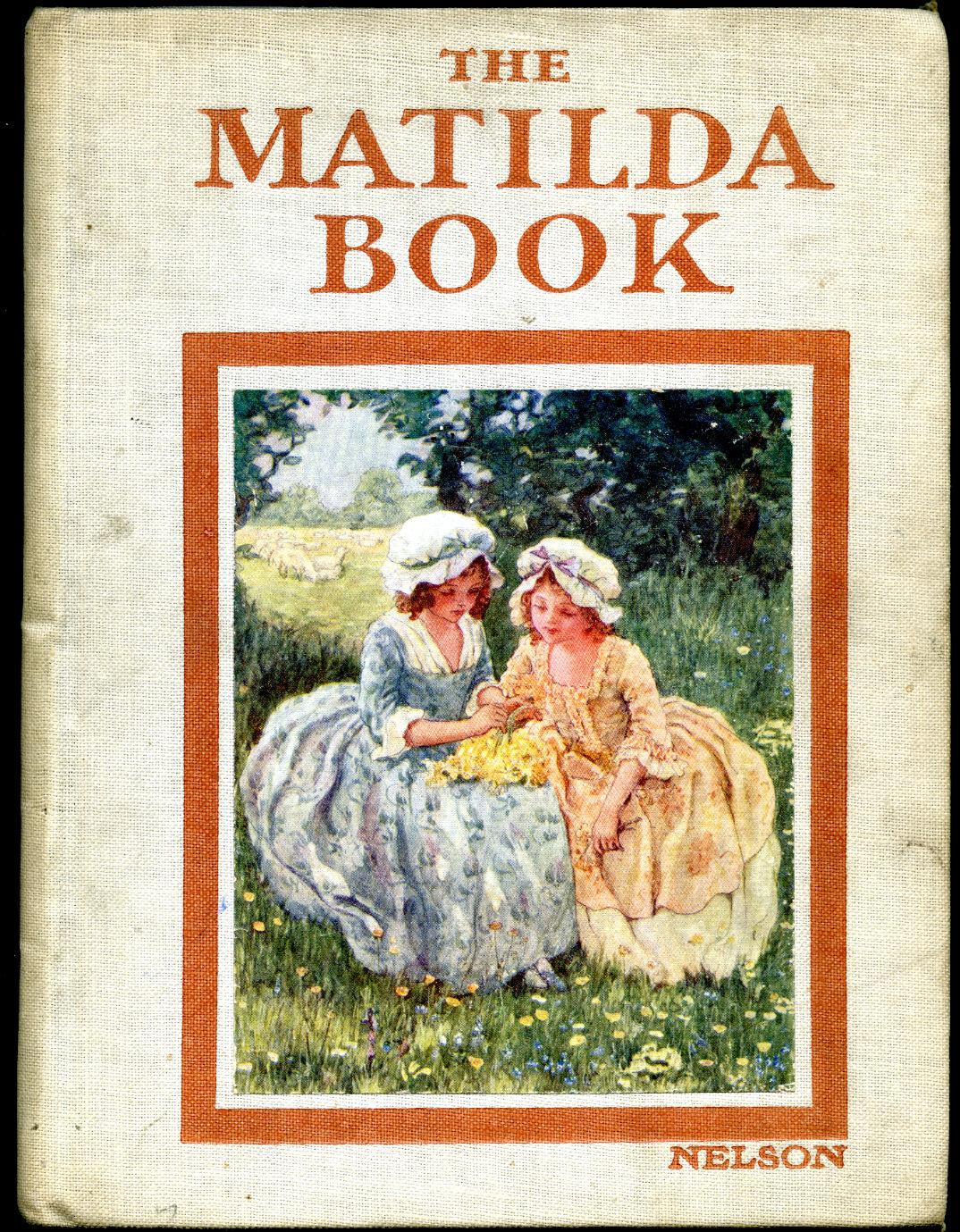 WOOD, ELSIE ANNA (ILLUSTRATOR) VERSES BY JACQUELINE CLAYTON - The Matilda Book