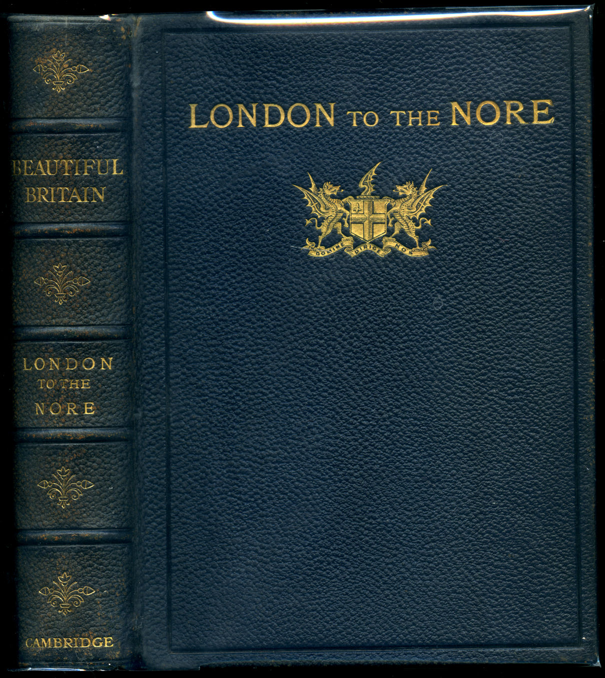 PAINTED W. L. WYLLIE AND DESCRIBED BY MARIAN AMY WYLLIE - Beautiful Britain | London to the Nore (Royal Canadian Limited Edition)