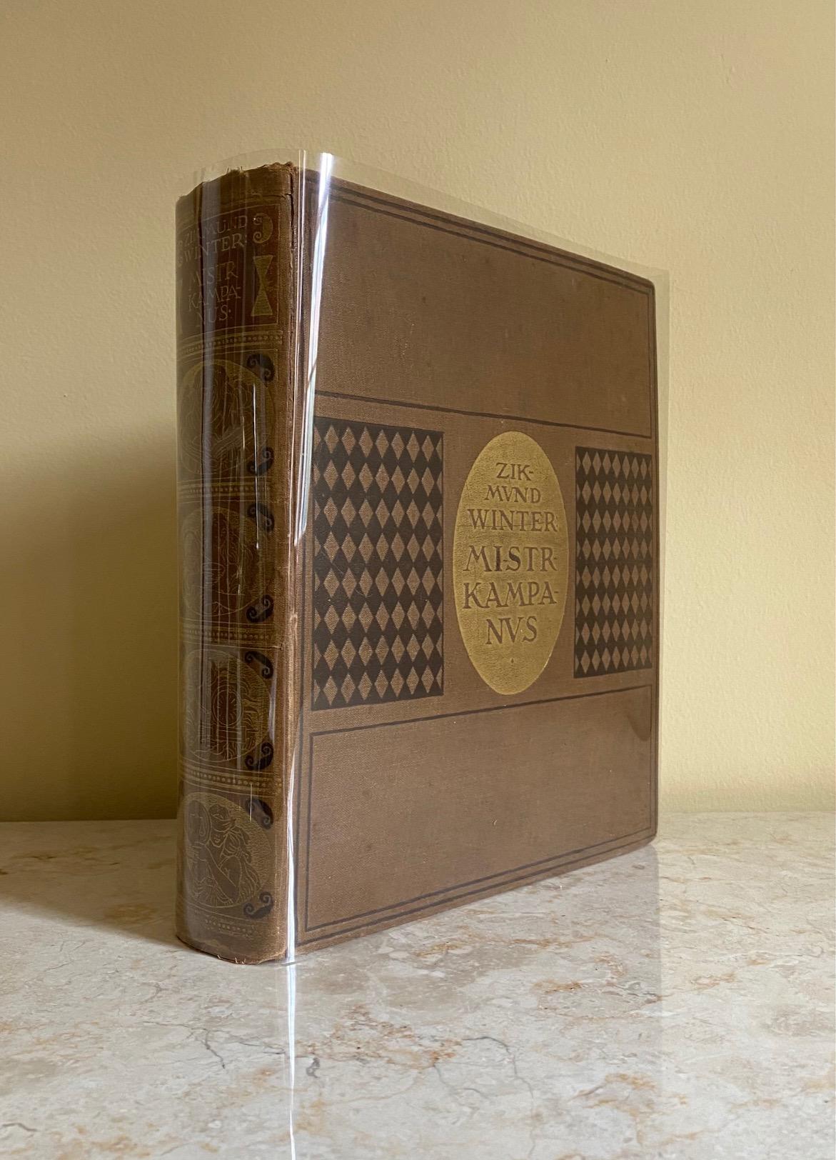 WINTER, ZIKMUND (CZECHOSLOVAKIAN WRITER AND HISTORIAN 1846-1912) ILLUSTRATED BY ADOLF KAšPAR (27 DECEMBER 1877 IN BLUDOV - 29 JUNE 1934 IN ŽELEZNÁ RUDA), WAS A CZECH PAINTER AND ILLUSTRATOR. - Mistr Kampanus | Historicky Obraz
