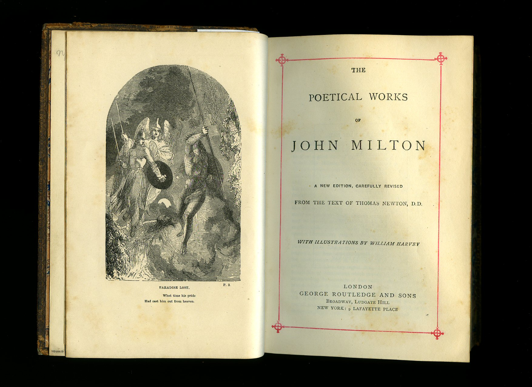 john milton milton john 1608 1674 preface by theodore alois buckley the poetical