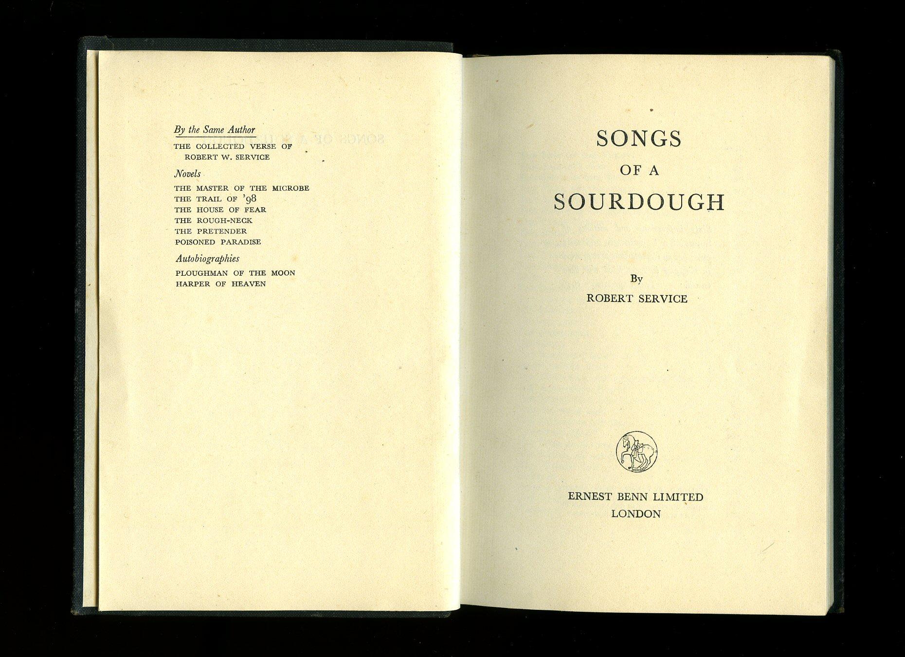 songs of a sourdough pdf