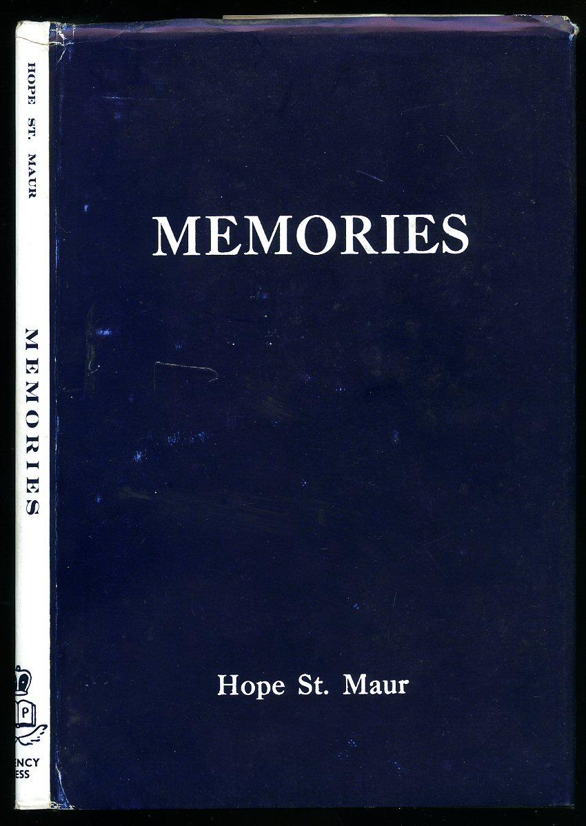 HOPE ST. MAUR - Memories