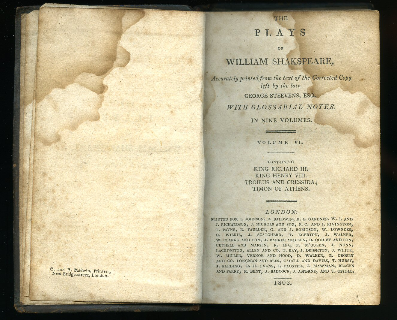 complete works william shakespeare essay sir henry irving Also, the history of his life, his will and an introduction to each play with a  contribution on the shakespeare and bacon controversy by the late sir henry  irving to.