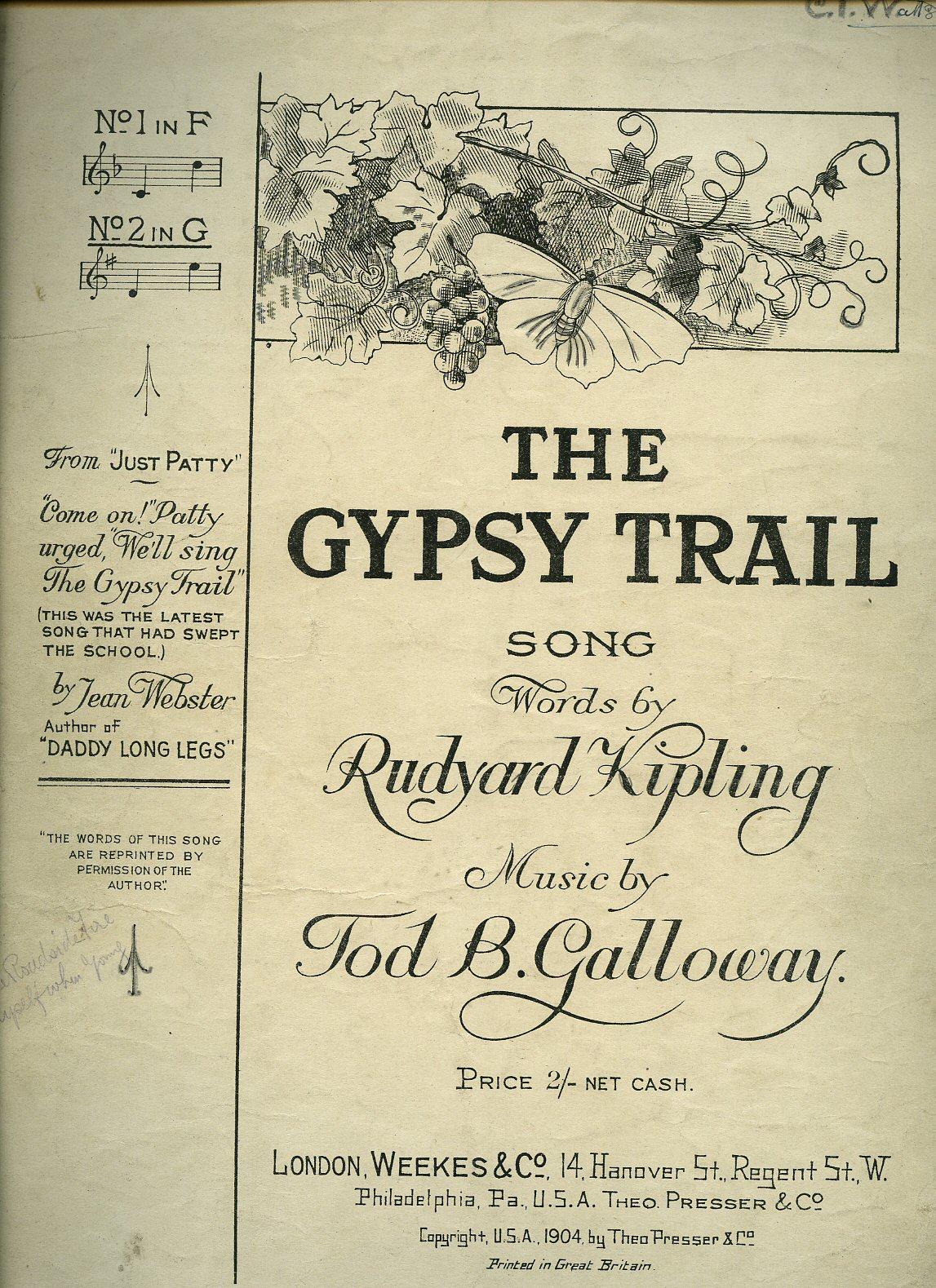 the gypsy trail sheet music