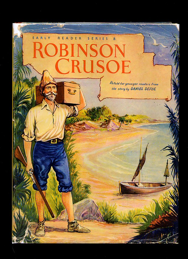 an analysis of the story of robinson crusoe Free summary and analysis of the events in daniel defoe s robinson crusoe that won t make you snore we promise.