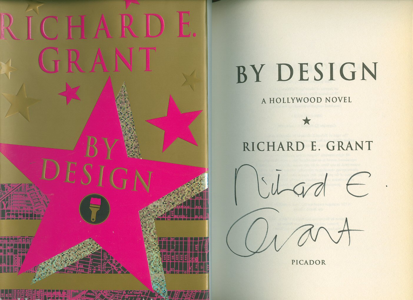 GRANT, RICHARD E. - By Design [Signed]