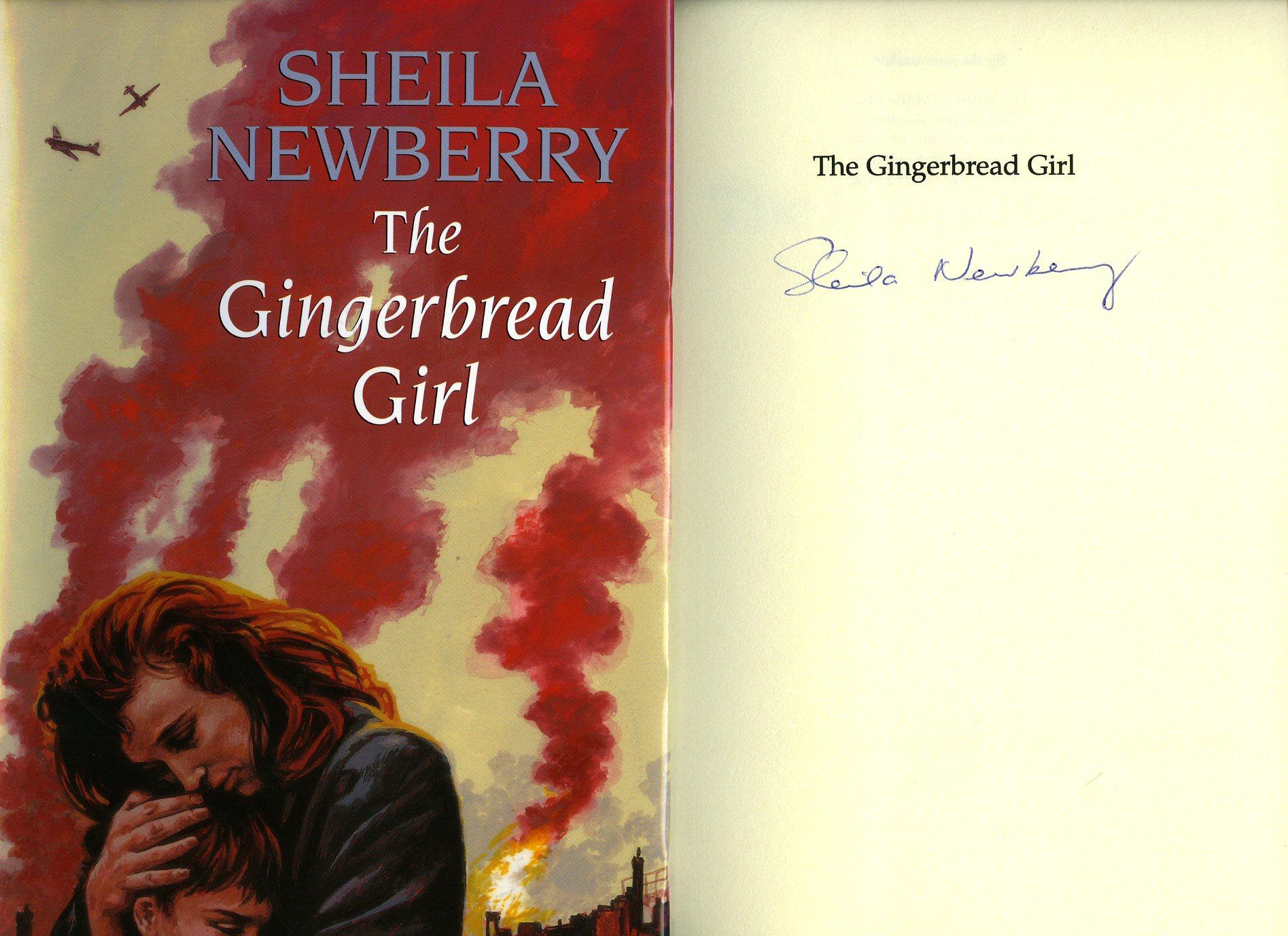 NEWBERRY, SHEILA [JACKET ILLUSTRATION BY BARBARA WALTON] - The Gingerbread Girl [Twice Signed + Sticker]
