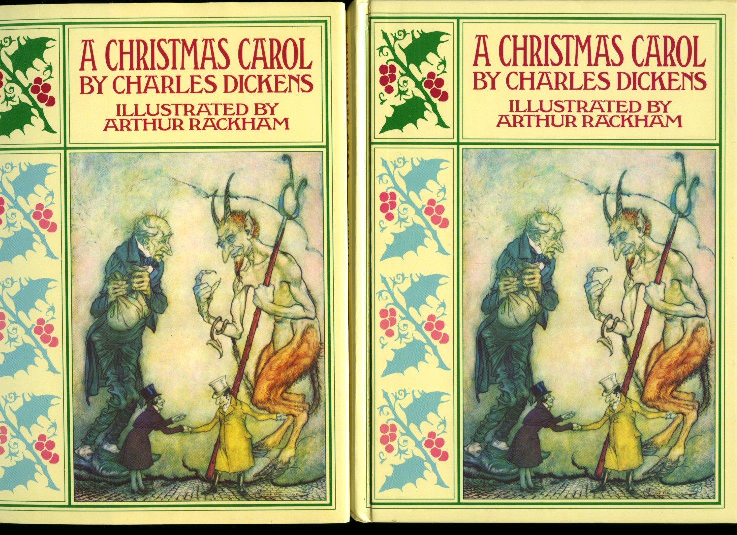A christmas carol original book cover