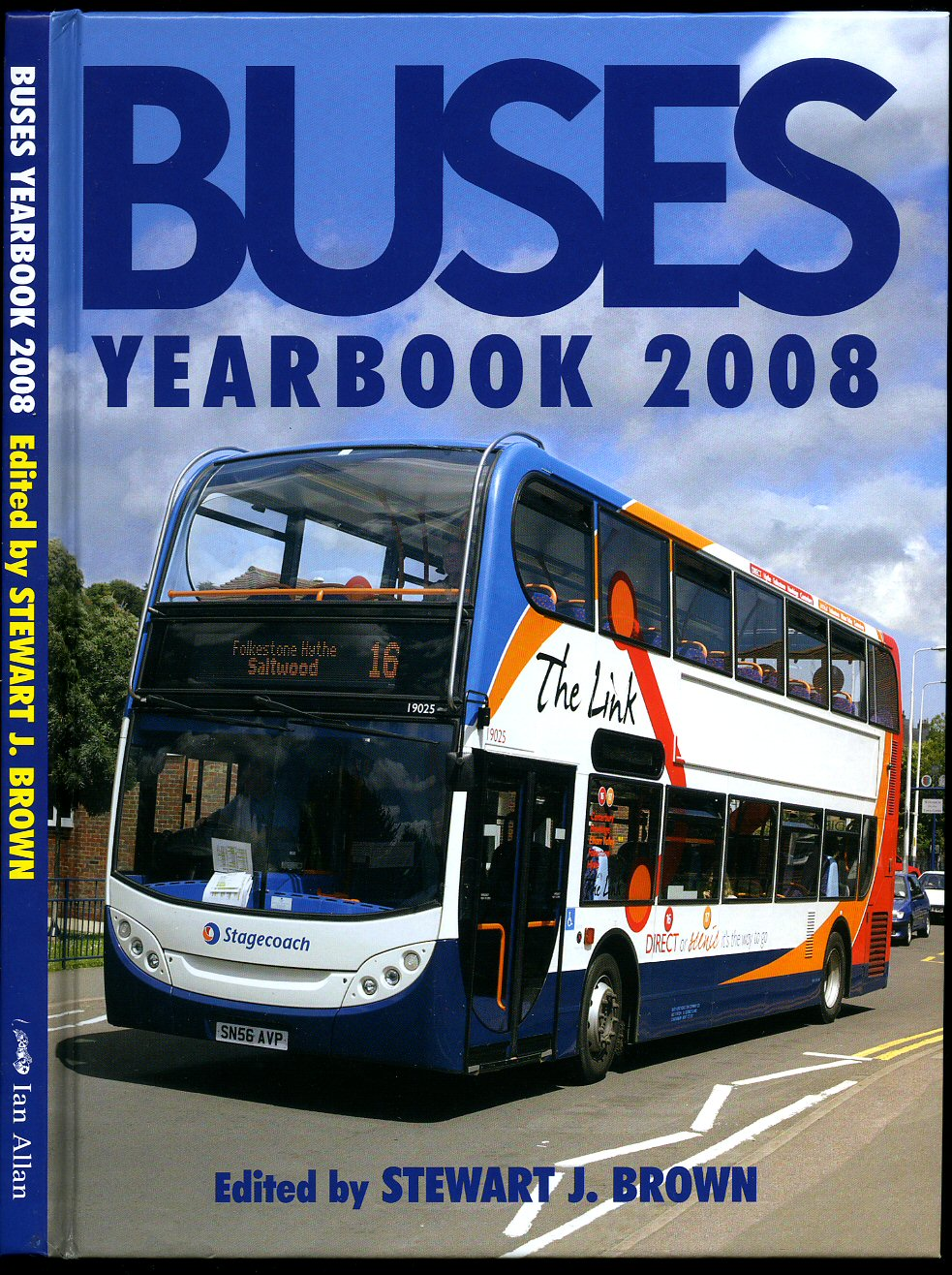 BROWN, STEWART J. [EDITED BY] - Buses Annual Yearbook (Year Book) 2008
