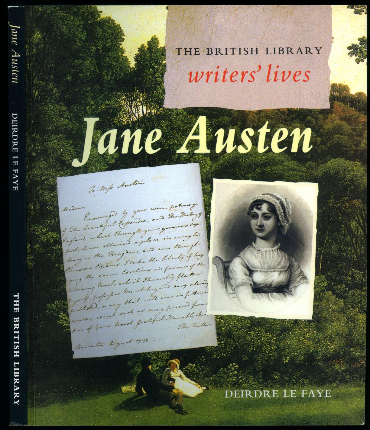 LE FAYE, DEIRDRE [JANE AUSTEN 1775-1817] - British Library Writers' Lives   Jane Austen